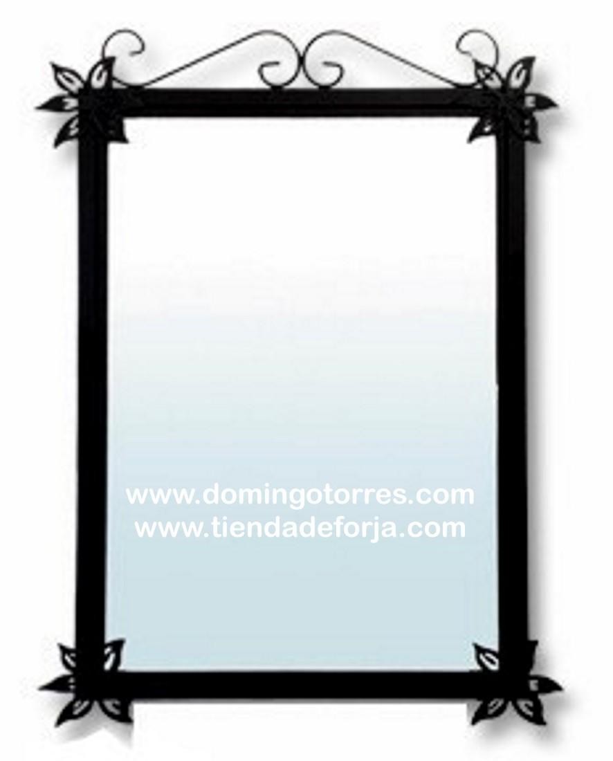 Espejo de forja artística para baño CE-48 - Domingo Torres, S.L. ...