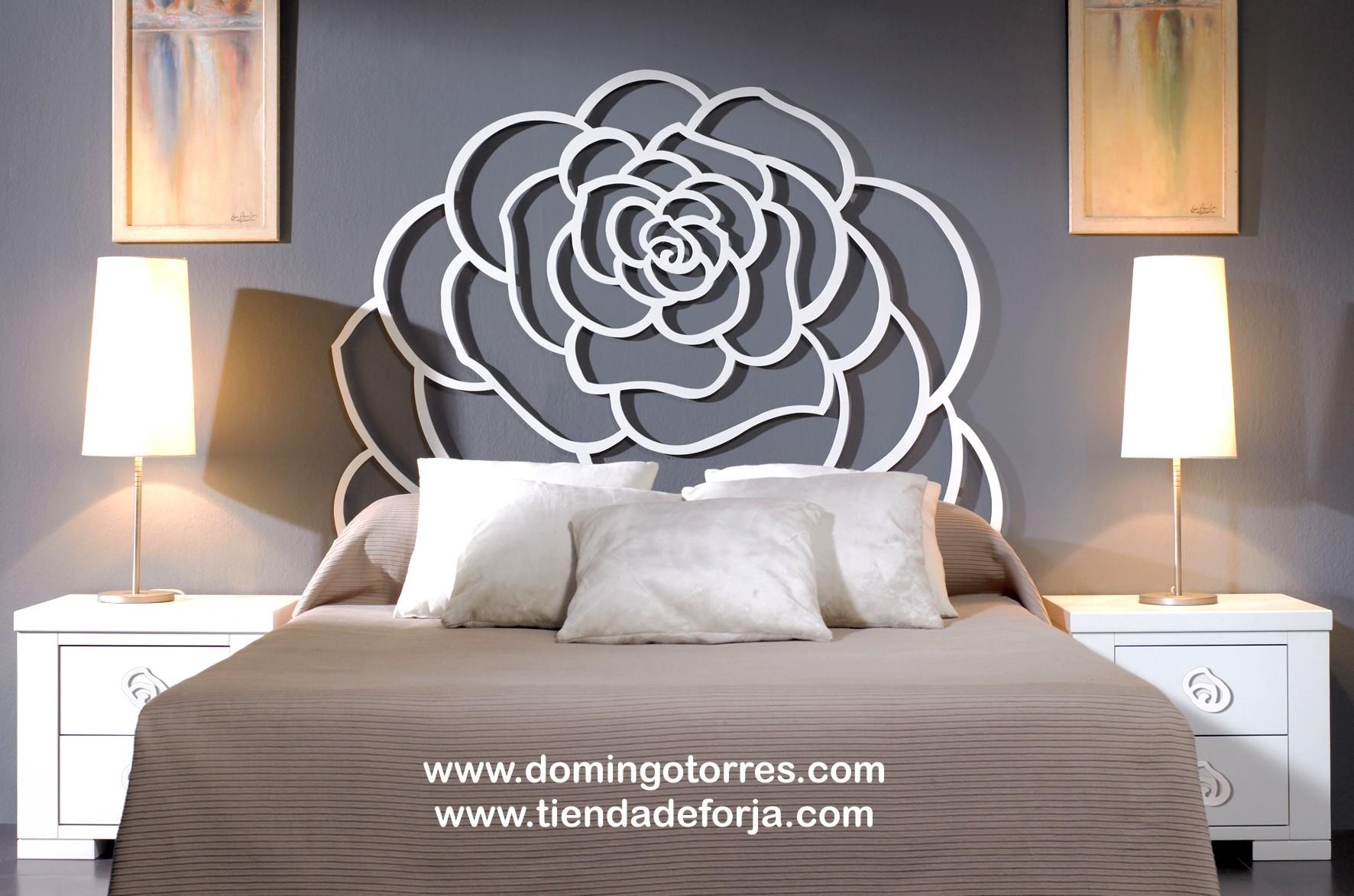 cabezal cabecero y cama de forja con forma de rosa c 117 domingo torres sl tienda de forja y decoracin